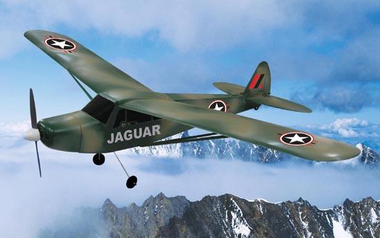 3-Channel Jaguar J3 Piper Cub Radio Remote Controlled