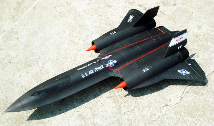 SR71 EDF RC Jet