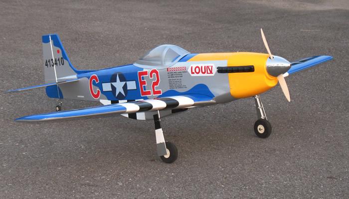 Mustang 60 ARF Plane