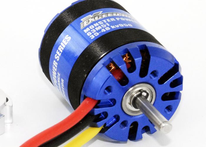 Monsterpower 15 950kv powerful brushless motor for Most powerful brushless motor