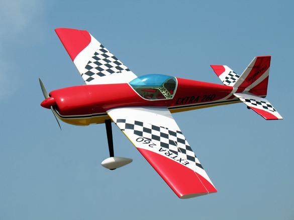 Extra 3D 260 Aerobatic RC Plane