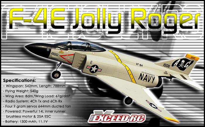 F-4E Jolly Roger EDF Jet