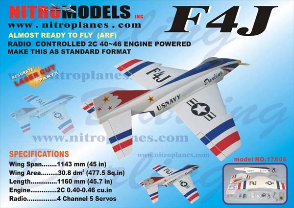 F4J  RC Plane