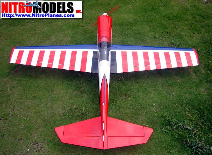 Balsa Super Chipmunk RC Plane