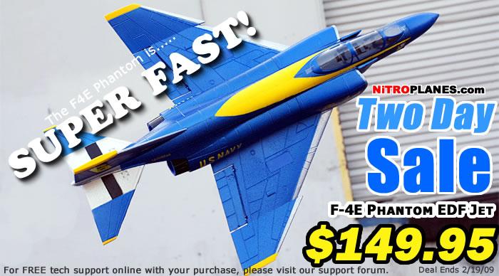 F4E On Sale