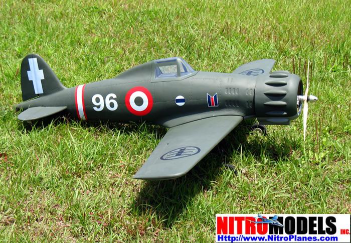 Macchi MC 200 Italian Fighter