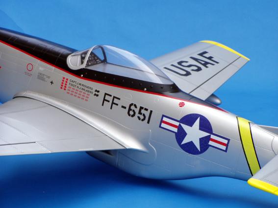 U S Air Force P 51d Mustang 140 71 5 Quot Nitro Gas Arf Rc