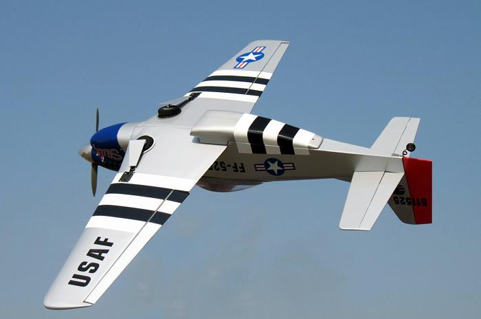 Mustang P-51 USAF ARF RC PLANE