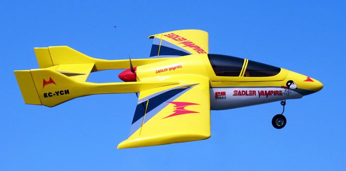 SADLER VAMPIRE SV-2 RC Plane
