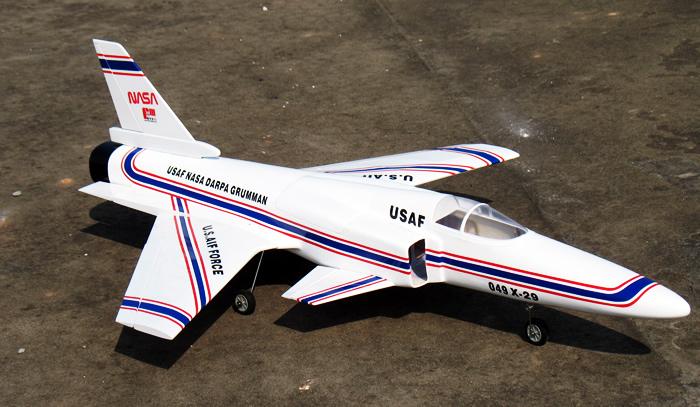 USAF NASA DARPA GRUMMAN EDF Jet