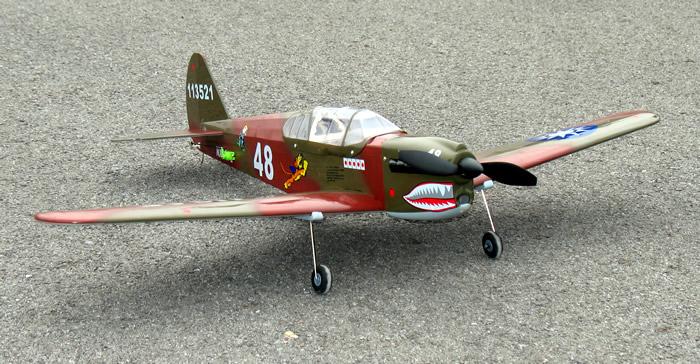 Electric P40 Plane