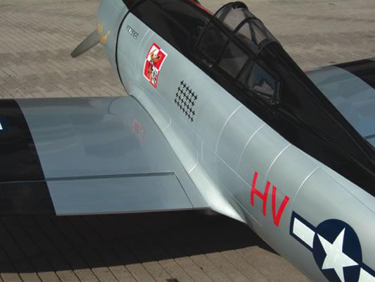 P47 RC Plane