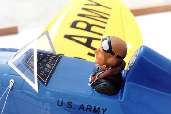 P-26 Peashooter ARF Nitro Models