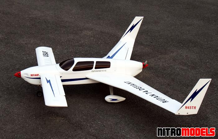 Rutan Defiant 74 ARF RC Plane