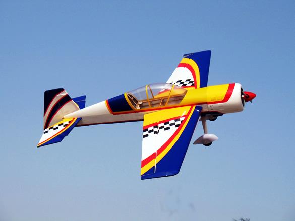 Yak 25 Nitro Models RC Plane